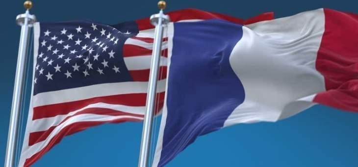 بيان أميركي فرنسي: على القادة السياسيين بلبنان تحقيق إصلاحات حقيقية تخدم مصالح الشعب