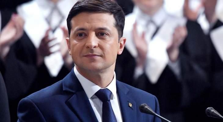 زيلينسكي: أردت حل عدد أكبر من المشاكل خلال قمة باريس