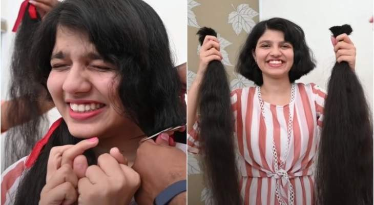 مراهقة صاحبة أطول شعر في العالم تقصه وتتبرع به لمتحف أميركي