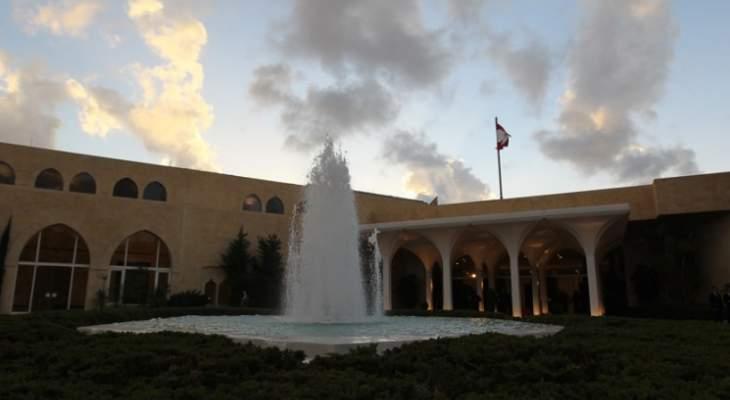 مصادر قريبة من قصر بعبدا للـOTV: الحكومة تتألف بالقصر لكن يبدو أن الحريري نسي هذا المكان