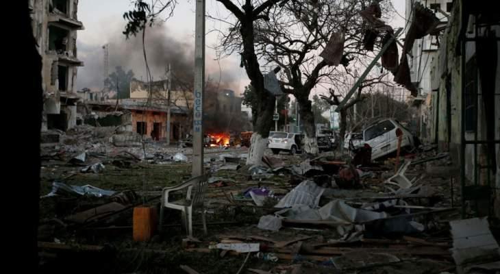 الدفاع التركية تؤكد إصابة 4 من مواطنيها في تفجير قرب مقديشو