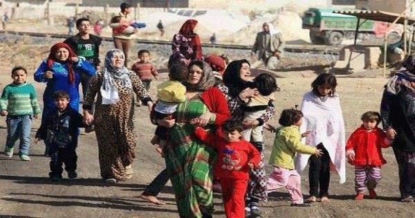 """الأمم المتحدة باشرت أخذ """"بصمة العين"""" للنازحين بالنبطية لتوزيع المساعدات"""