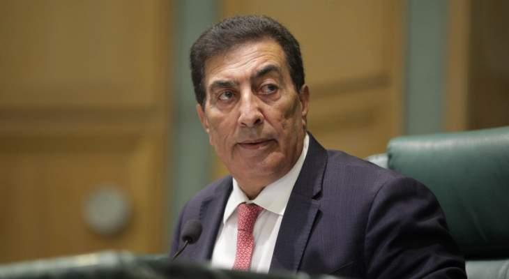 رئيس مجلس نواب الأردن: اتفاقية السلام مع إسرائيل على المحك بعد تصريحات نتانياهو