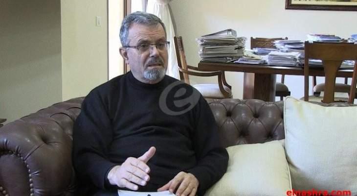 الاب عازار: وزير التربية متفهم لوضع المدارس الخاصة وتحديدا الكاثوليكية