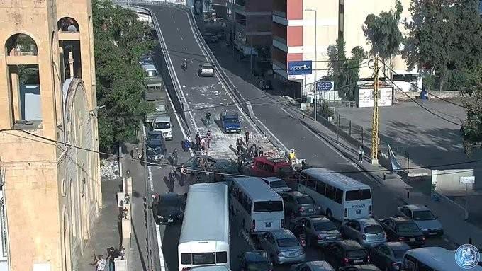 التحكم المروري: فتح طريق جل الديب الداخلية وطريق عام عجلتون