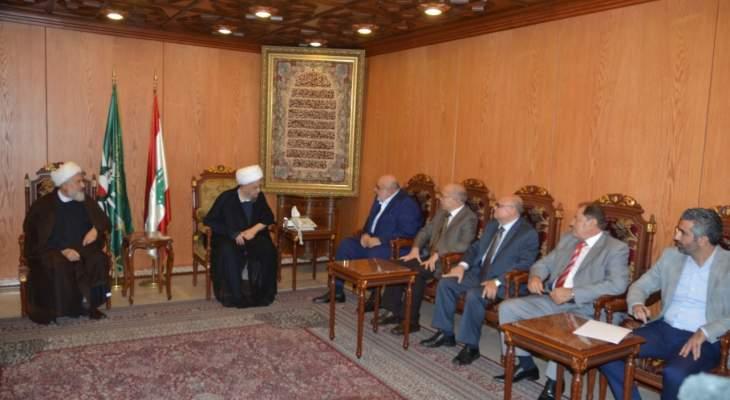 الشيخ قبلان: الدولة العلمانية هي الحل ليتساوى اللبنانيون في الحقوق ويخرج لبنان من الازمات