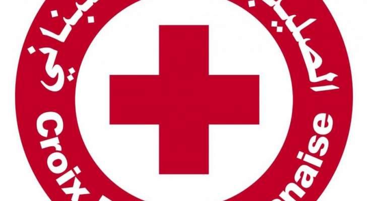 الصليب الأحمر: 7 جرحى وفقدان شخص في انفجار مستودع الغاز بمنطقة القصر
