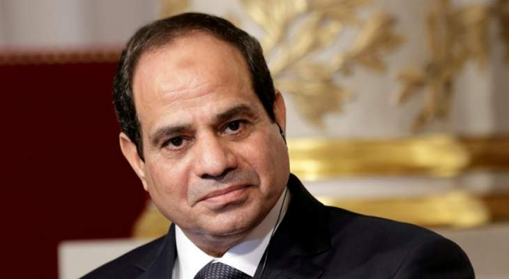 السيسي يكلف حكومة شريف اسماعيل بتسيير الأعمال