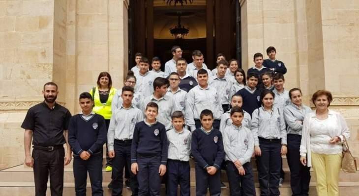 اختتام الدورة الرياضية والثقافية السنوية في مدارس الرهبانية اللبنانية المارونية