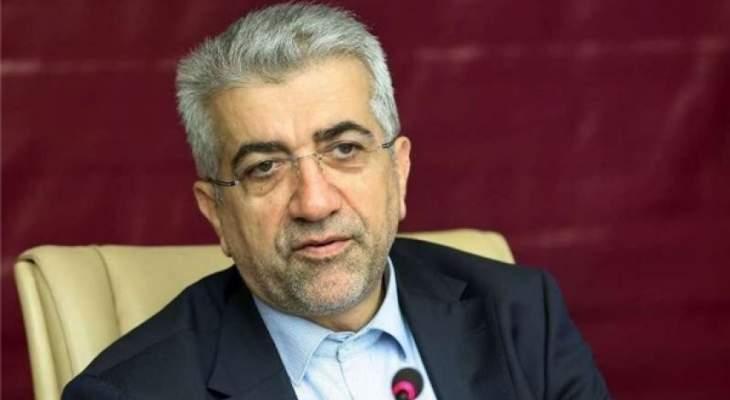 وزير الطاقة الإيراني: إتفاق بين إيران وأذربيجان بشأن إنشاء محطتين للطاقة الكهرومائية