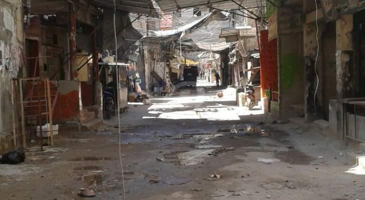 النشرة: حركة ناشطة بعين الحلوة في أعقاب اشكال الخميس الماضي