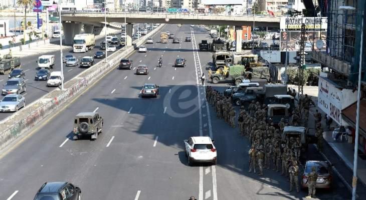 حالة من التدافع بعد وصول قوة من الجيش الى جل الديب لفتح الطريق