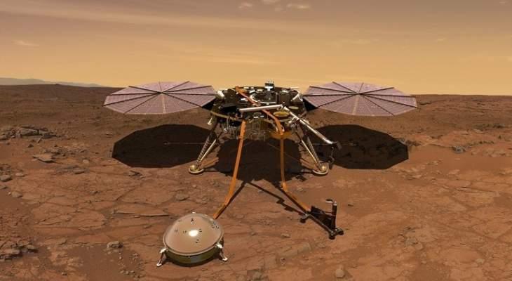 """إستئناف المسبار """"إنسايت"""" عمليات الحفر في المريخ"""