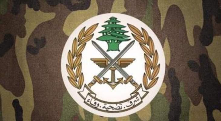 النشرة: قوة من الجيش اوقفت مطلوبًا وفي حقه عدد كبير من مذكرات التوقيف في بعلبك