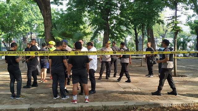 إصابة جنديَين جراء الانفجار الذي وقع في وسط العاصمة الإندونيسية جاكرتا