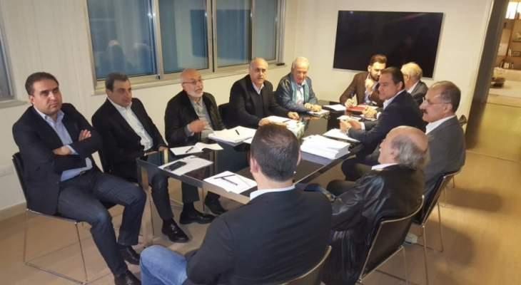 اللقاء الديمقراطي: الإستعصاء الحكومي الحاصل بات جريمة موصوفة بحق اللبنانيين