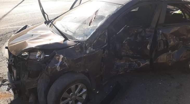 الدفاع المدني: 18 جريحا إثر حادث صدم في جبيل