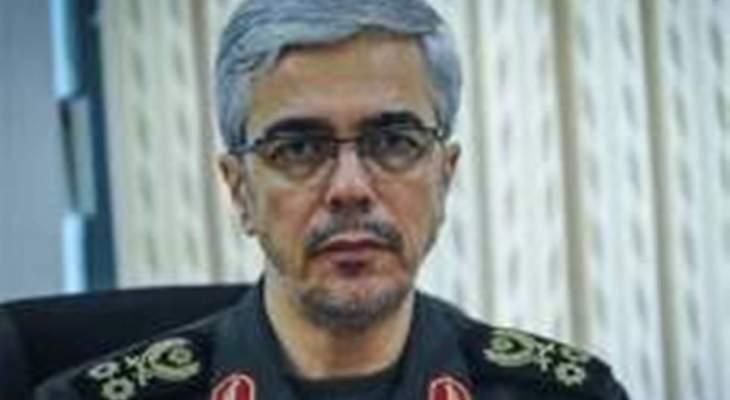مسؤول ايراني: الاعداء كانوا يترصدون فرصة لزعزعة امن ايران