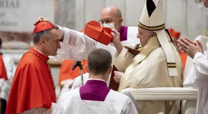 البابا فرنسيس يعين الكاردينال غامبيتي نائبا عاما على حاضرة الفاتيكان