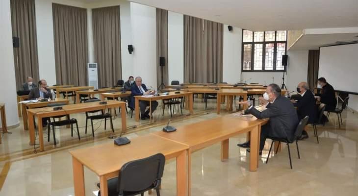 اللجنة الفرعية برئاسة عدوان ناقشت قانون استقلالية القضاء