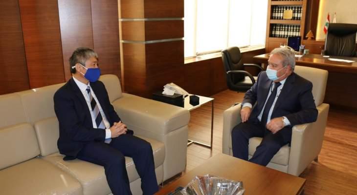 المشرفية استقبل ممثل UNHCR: نتطلع لدعم أكبر وحوافز لعودة النازحين