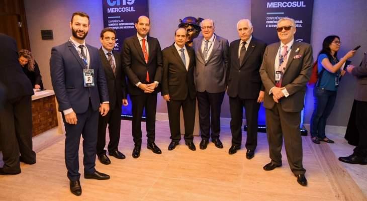 رئيس اتحاد غرف التجارة والخدمات والسياحة بالبرازيل: مشاركة حسن مراد في اجتماع الميركوسور مهمة
