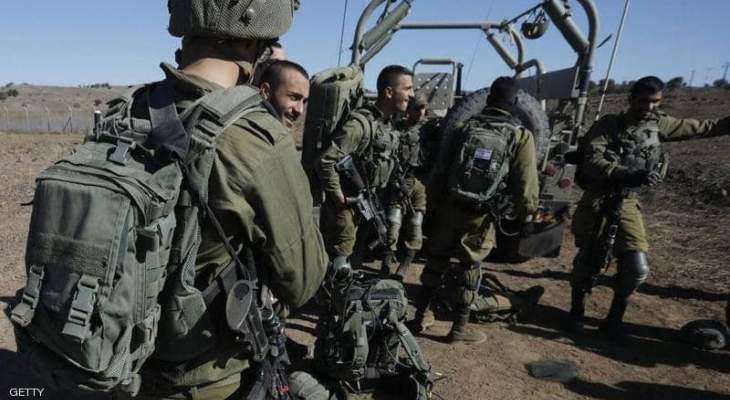 الجيش الإسرائيلي أطلقتدريبات تحاكي حربا على قطاع غزة
