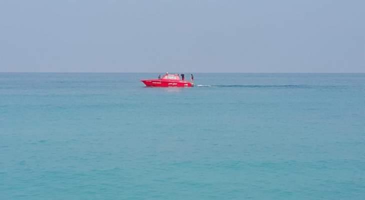 الدفاع المدني انقذ شخصين من الغرق مقابل شاطئ الدامور