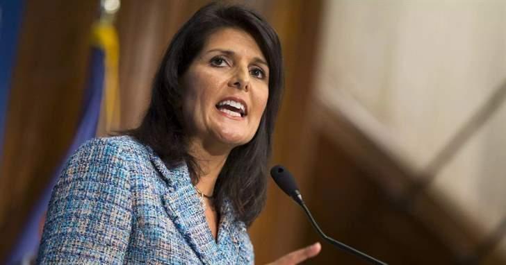 هايلي: نريد بناء تحالف دولي للتصدي لسلوك إيران