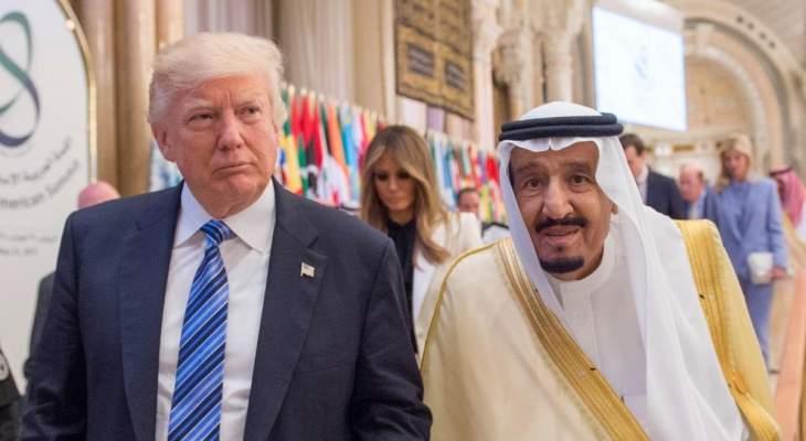 ترامب: الملك سلمان أكد لي أن مطلق النار بفلوريدا لا يمثل بأي شكل مشاعر شعب السعودية