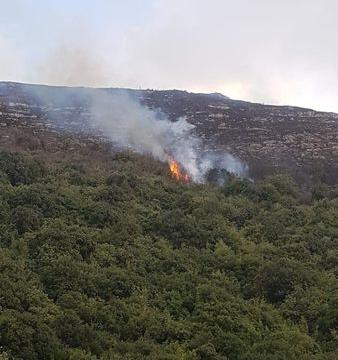 سلسلة حرائق اعشاب واشجار اندلعت في اقليم الخروب.