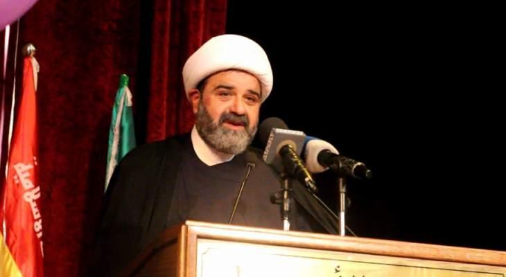 الشيخ حسن عبد الله دعا الحكومة لوضع قضايا الناس أولوية بالمرحلة المقبلة
