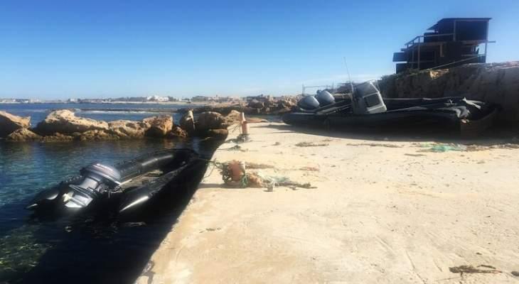 وسائل إعلام ليبية: إستهداف مصنع قوارب هجرة في صبراتة بضربتين جويتين