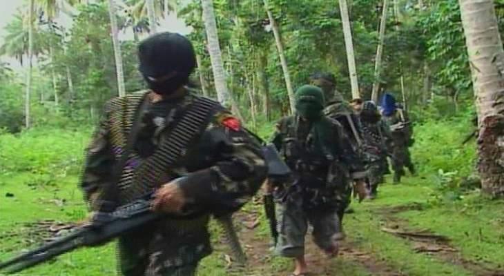 """سلطات الفلبين: مقتل 4 من مسلحي """"أبو سياف"""" في اشتباكات مع الجيش"""