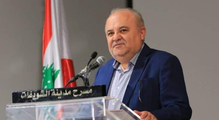 بركات: الفساد شماعة للسياسة الأميركية التي تم اعتمادها لتدمير لبنان