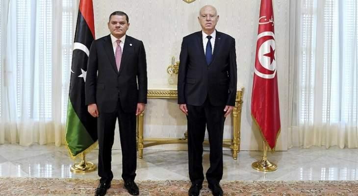 حكومة الوحدة الوطنية الليبية أعلنت فتح الحدود مع تونس