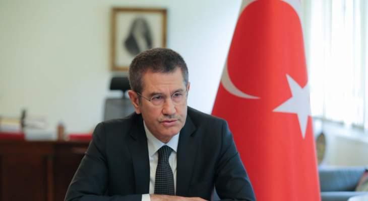 وزير دفاع تركيا: مصممون على تطهير عفرين من الإرهابيين