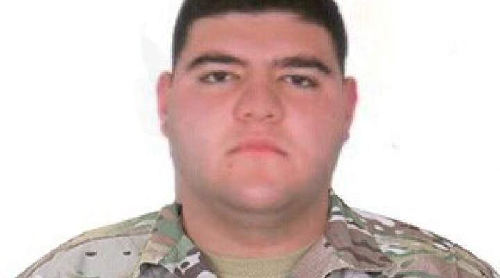قيادة الجيش نعت المعاون جواد شيا والرقيب حسن طي اللذين استشهدا بانفجار بيروت أمس