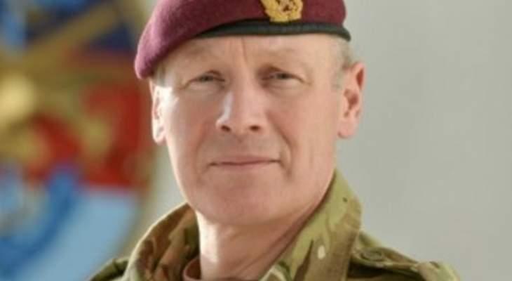 كبير مستشاري دفاع بريطانيا: ملتزمون بمساندة القوات المسلحة اللبنانية