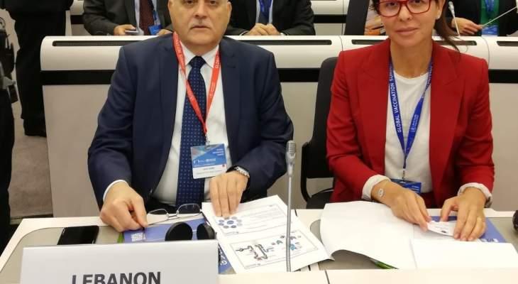 جبق من بروكسل: نسعى لإبقاء لبنان خاليًا من شلل الأطفال