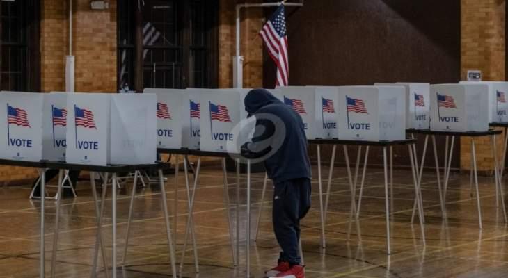 238 صوتا لبايدن الذي فاز بـ20 ولاية و213 لترامب الذي فاز في 23 ولاية حتى الساعة