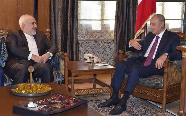 ظريف التقى بري: لدينا الاستعداد الدائم للتعاون مع لبنان في كافة المجالات