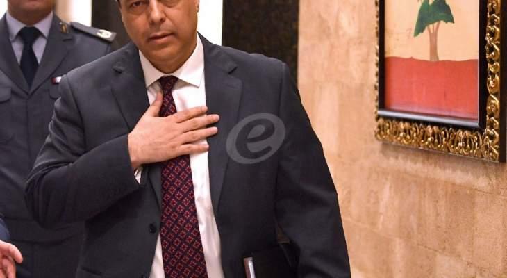 مصادر للشرق الأوسط: استقبال دياب لسفراء دول الاتحاد الأوروبي لن يبدّل