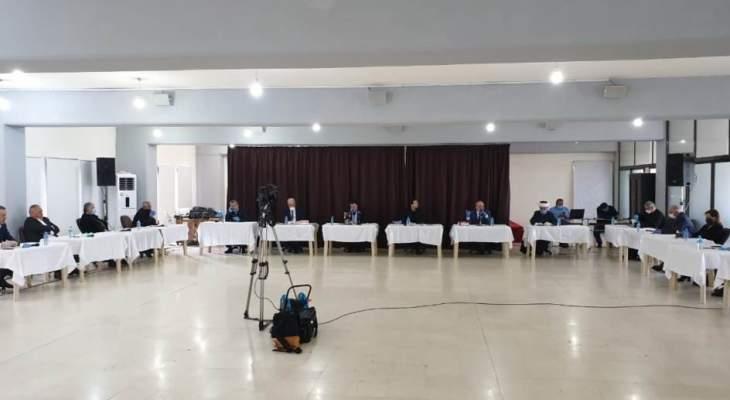 خلية أزمة عكار بحثت بتجهيز مستشفى في المحافظة وفتح باب التبرعات