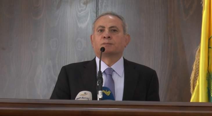 حميد: اقتراح القانون الانتخابات لا يستهدف إبعاد أحد أو الانتقاص من موقع أحد