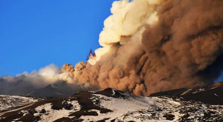 مصلحة الأبحاث الزراعية: لبنان لن يتأثر بدخان بركان أتنا في إيطاليا