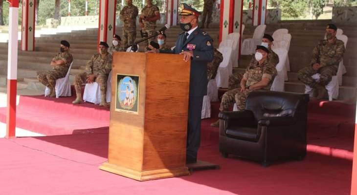 الجيش أقام حفل تخريج دورة رتيب مدرب في قيادة معهد التعليم في بعلبك
