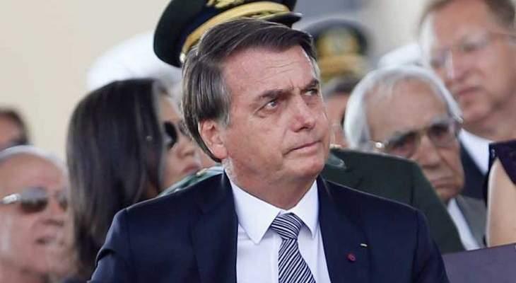 بولسونارو: البرازيل ستتبع سياسة عدم التسامح المطلق مع مشعلي الحرائق