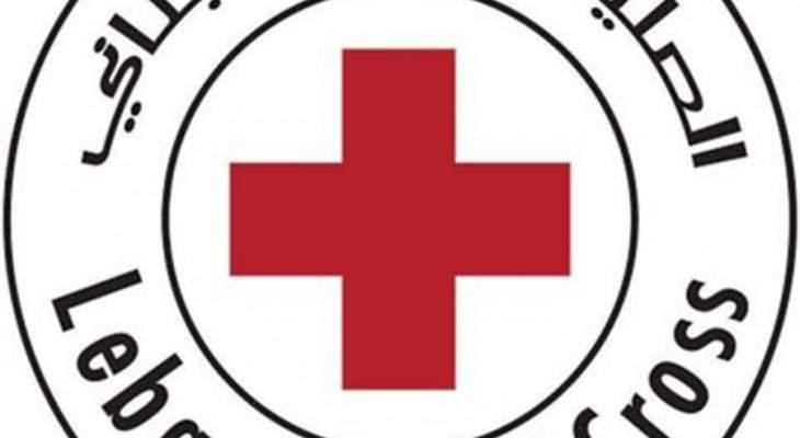 الصليب الأحمر اللبناني: لعدم نشر معلومات وصور الا الصادرة ببيان رسمي