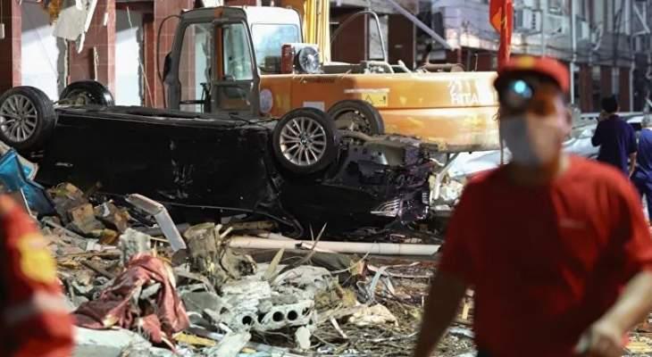إعلام الصين: مقتل 11 شخصا وإصابة 144 آخرين بانفجار غاز طبيعي بمقاطعة هوبي